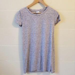 H&M Divided Heathered Grey Tshirt Dress